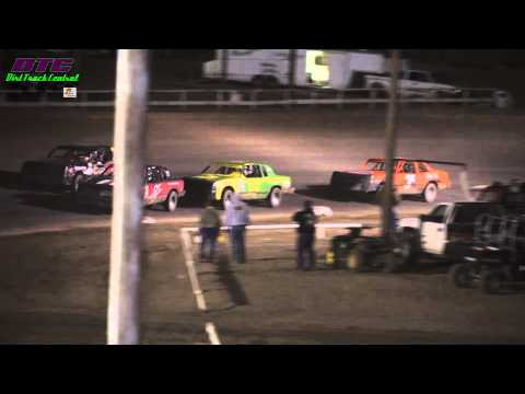 IMCA Hobby Stock A Feature Wakeeney Speedway Spring Fling 4-14-13