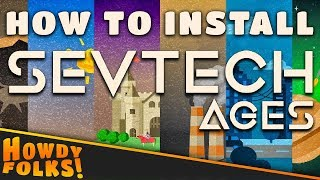 How To Install Minecraft Sevtech Ages Cracked 1 12 2