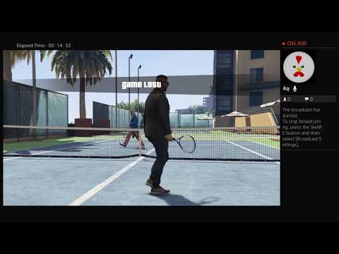 Tennis with CloudNoah GTA5 Ps4