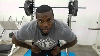 KRB & Trey Wilder Legs At KRB Fitness Gym