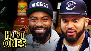 Download Desus and Mero Get Smacked By Spicy Wings | Hot Ones Mp3 and Videos