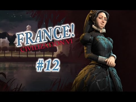 Civilization 6 Gameplay - France/Emperor - Episode 12: A Killer Fleet and Benoit Making Moves