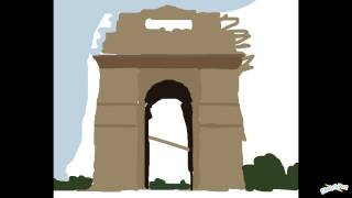 """India Gate - for Ishan :3"" by Muffinman"