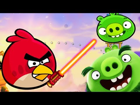 ANGRY BIRDS 2 Epic battle of the evil Red and the pigs