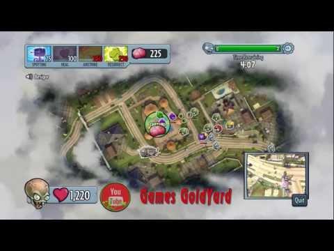 Первая игра за боса - Растения против Зомби: Садовая война