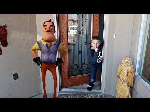 BROKE INTO A STRANGER'S HOUSE! | Hello Neighbor in Real Life thumbnail