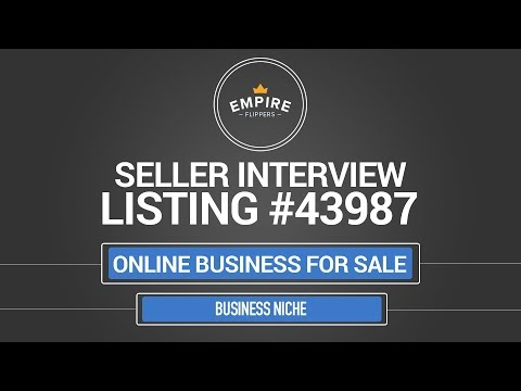 Online Business For Sale – $3.5K/month in the Business Niche
