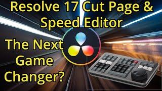 Davinci Resolve 17 Cut Page Highlights and Speed Editor | Blackmagic has DONE IT AGAIN