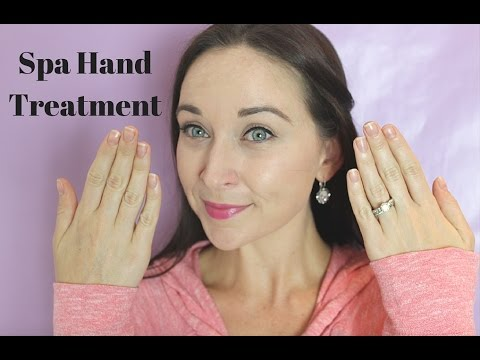 At Home Anti Aging Spa Hand Treatment Courtney Val Youtube