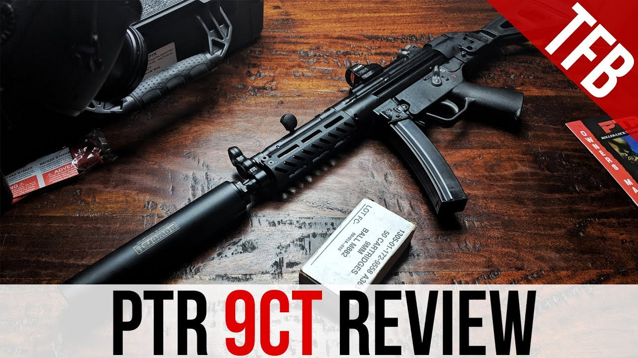 Ptr Industries 9ct Review U S Made H K Mp5 Clone Youtube