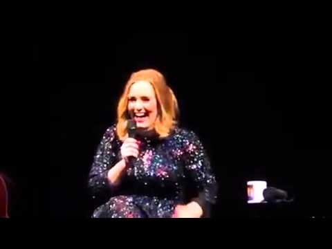 Adele live tour 2016 funny moments—part 2