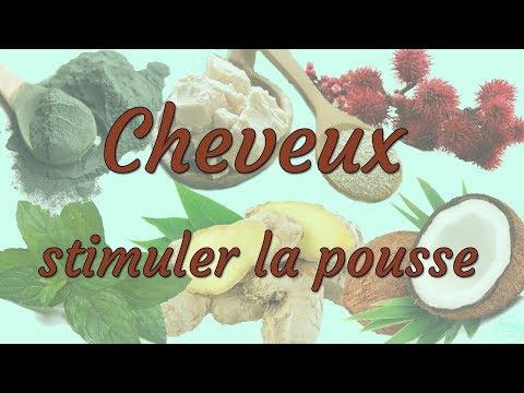 MES PRODUITS POUR LA POUSSE DU CHEVEU!