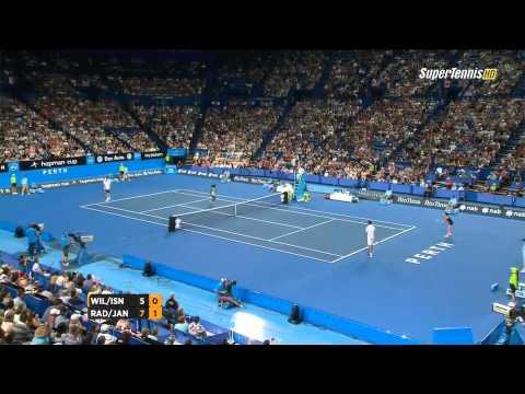 Puchar Hopmana 2015 Agnieszka Radwańska Jerzy Janowicz vs Serena Williams John Isner