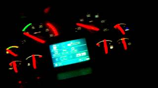 Volvo FH12 460 EEV acceleartion without trailer night