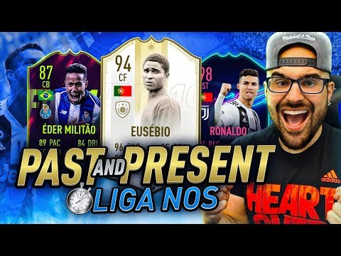 MY BEST PAST & PRESENT LIGA NOS SQUAD! FIFA 19 Ultimate Team