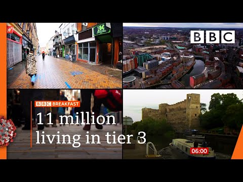 Covid-19: Nottinghamshire moves into tier 3 restrictions 🔴 @BBC News live - BBC