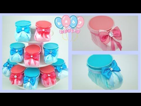BABY SHOWER ZAPATITOS CON GELATINA DE 3 SABORES