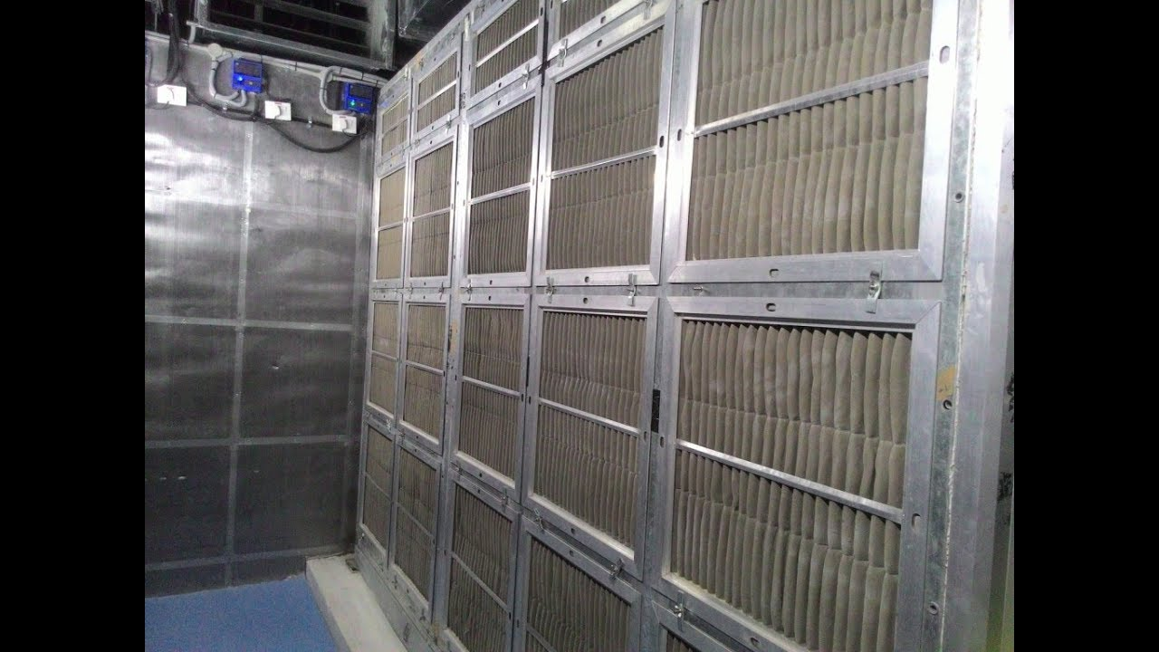 Ahu Room Air Handling Unit For Cooling Room Air With The
