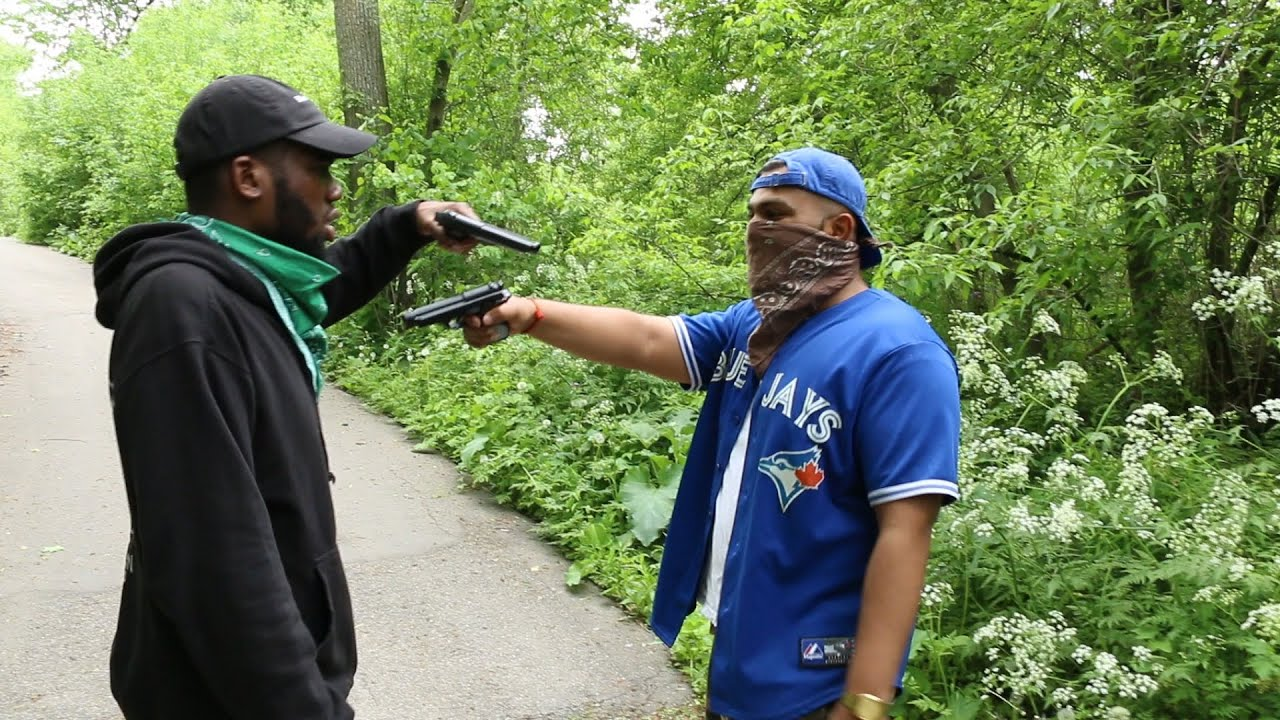WHEN YOU GET ROBBED BY A TORONTO HOOD MAN