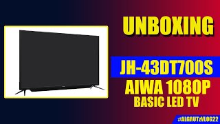 Unboxing Aiwa LED TV