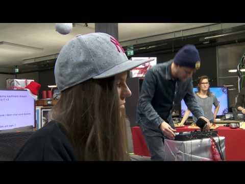 Knackeboul & Jenny - Dangerous (David Guetta) Piano/Beatbox Version
