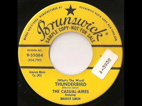 Casual-Aires - (what\u0027s the word) thunderbird - YouTube
