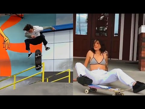 Aleatory Raw Clips...9 (Skateboarding Fun, Crazy Tricks, Fails, Wins)