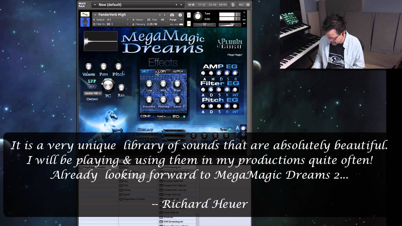 MegaMagic: Dreams for Omnisphere 2/ EXS24/Serum/Iris 2 - PluginGuru com