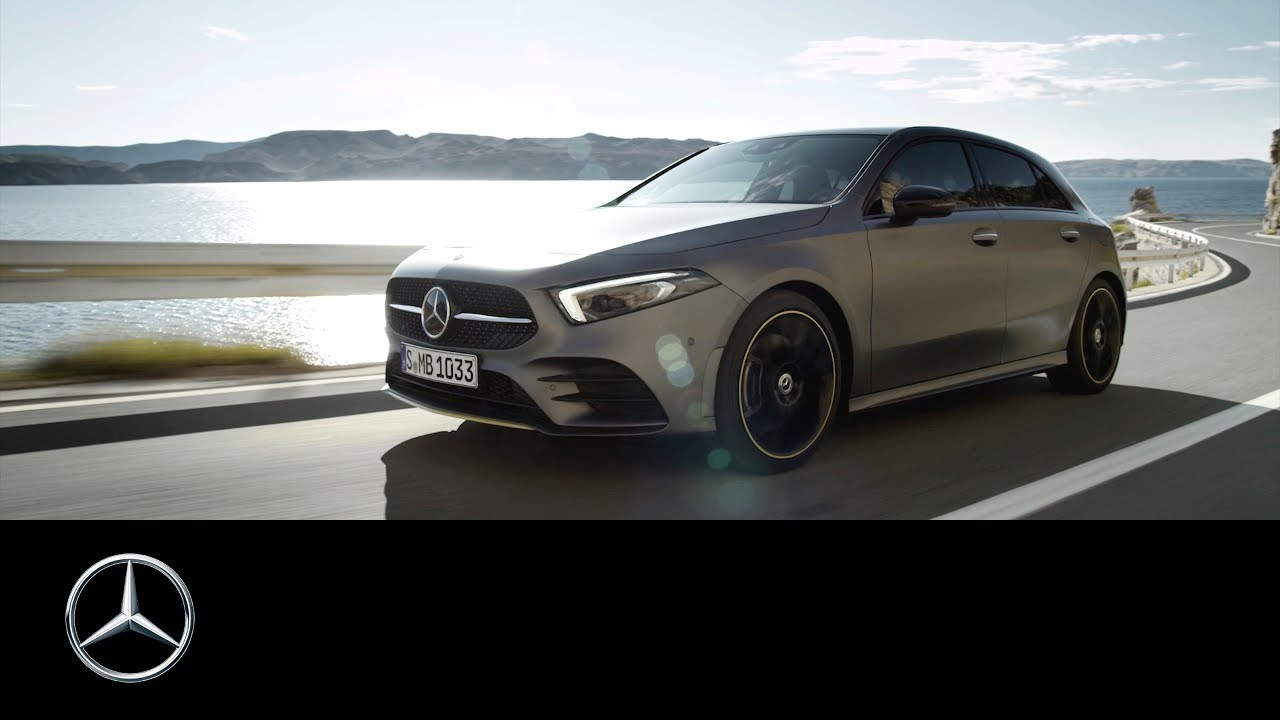 die neue mercedes benz a klasse 2018 weltpremiere trailer youtube. Black Bedroom Furniture Sets. Home Design Ideas
