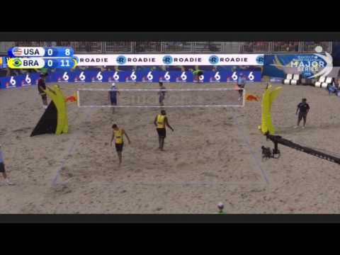 USA vs BRA FIVB Beach Volleyball 2017 | Ft. Lauderdale