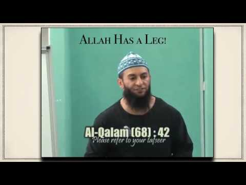 Muslim Scholars admit Allah is physical