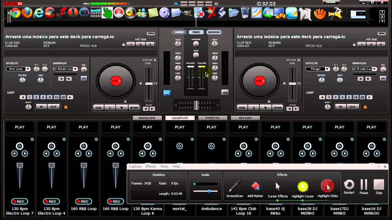 Virtual Dj 8 Sampler