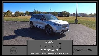 2020 Lincoln Corsair Reserve AWD|Walk Around Video|In Depth Review