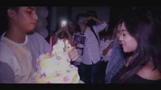 surprise birthday party for Rachel Vennya