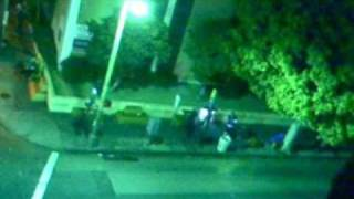 LATE NIGHT DRUG BUST BY LAPD GANG UNIT ON 7th + WITMER St - DOWNTOWN LOS ANGELES