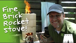 How To Make A Fire Brick Rocket Stove