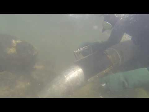 Underwater Gold Dredging 2013