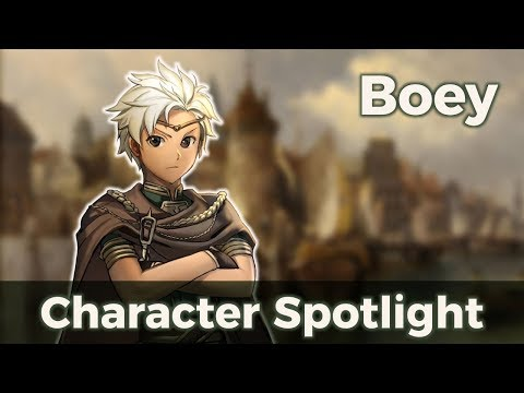 Fire Emblem Character Spotlight; Boey