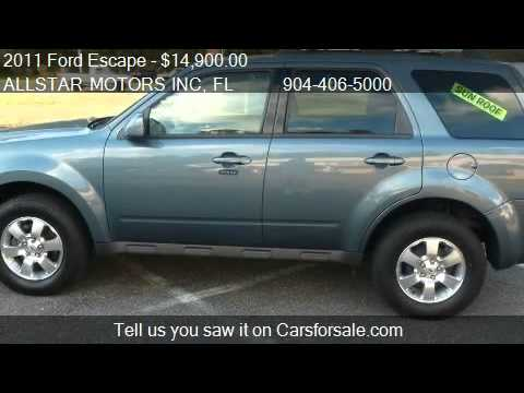 2011 Ford Escape Limited FWD - for sale in MIDDLEBURG, FL 32