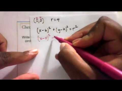 College Algebra - Distance-Midpoint Formulas and Circles.wmv