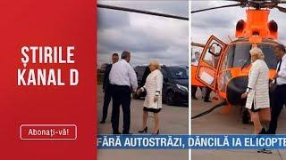 Stirile Kanal D (16.08.2019) - Fara autostrazi, Viorica Dancila ia elicopterul! Editie de ...