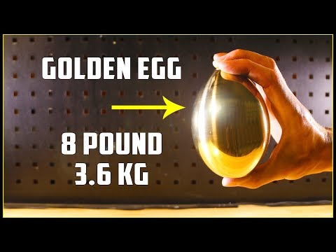 Casting a Golden Egg (Brass)