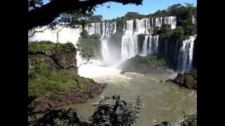 visites des chutes d'Iguazu Brésil