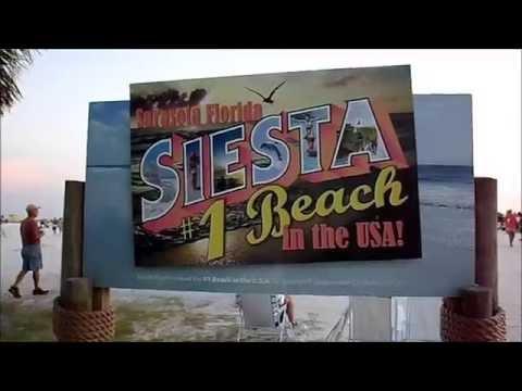 Tour of Siesta Key, Florida!