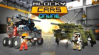 Blocky Cars Online БЛОК МАШИНЫ ОНЛАЙН прохождение игры