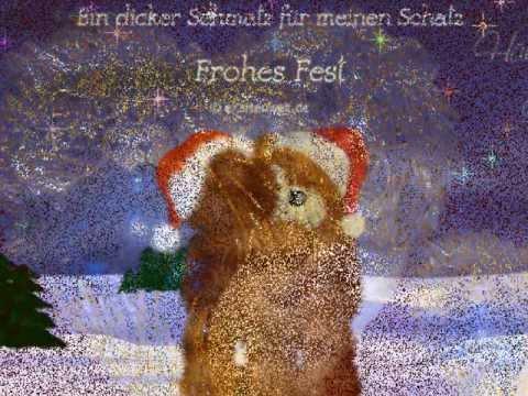 Frohe Weihnachten Sprüche Für Mein Schatz.Ich Wünsche Dir Mein Schatz Frohe Weihnachten Youtube