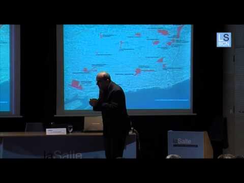 L'arquitecte en cap de l'Ajuntament de Barcelona visita La Salle BCN