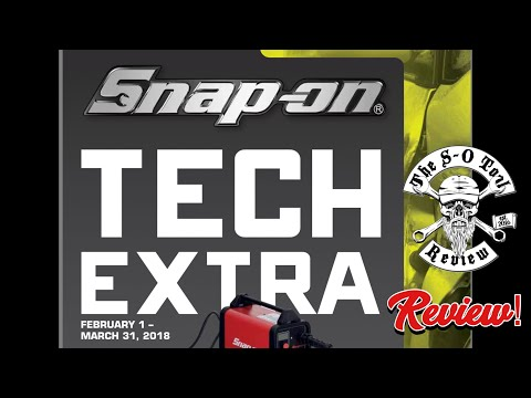 Feb/March 2018 SNAP-ON Tech Extra Flyer Review