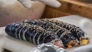은평구에 숨은 찐 김밥 맛집! 연서시장 옥이네김밥 비빔…