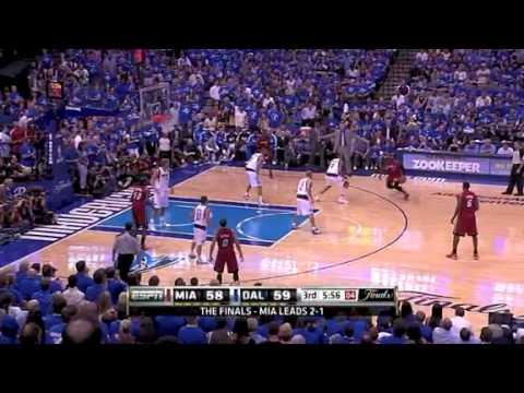 NBA Finals 2011: Miami Heat Vs Dallas Mavericks Game 4 Highlights (2-2)